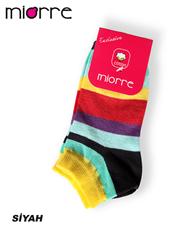 Miorre Desenli Pamuk Bayan Çorap