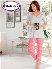 Doremi Pluto Pijama Takımı