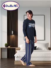 DoReMi Blue-Eyed Erkek Pijama Takımı