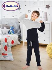 Doremi Erkek Çocuk Pijama Takımı