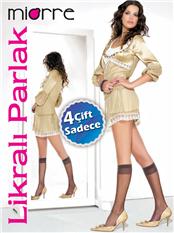 MIORRE 15 DEN.LİKRALI PARLAK 4LÜ PAKET